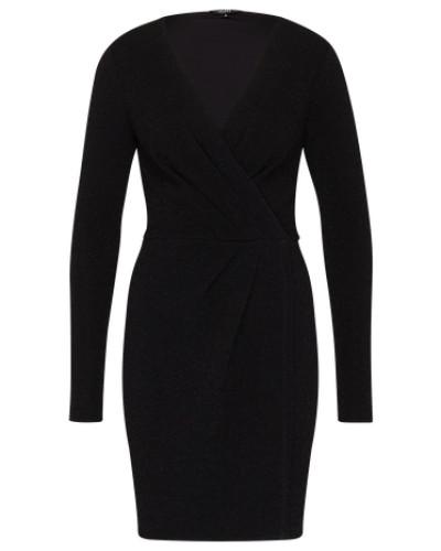 Kleid mit Lurex 'Madena' schwarz