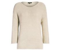 Klassischer Pullover ecru