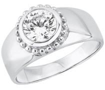 Ring mit Zirkonia »So1399/1-4« silber