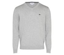 Pullover Logo graumeliert