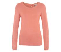Bluse 'Vmglory' mit schöner Rücken-Schnürung pink