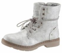 Shoes Schnürstiefelette braun / offwhite
