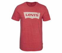 T-Shirt »Batwing« rotmeliert