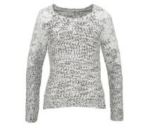 Pullover »Blumen Spitze« weiß