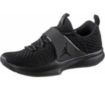Jordan Trainer 2 Flyknit Basketballschuhe schwarz