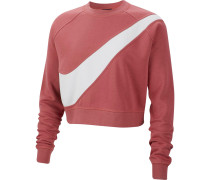 Sweatshirt weiß / pitaya