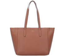 'Nature Grain Helena' Shopper Tasche cognac