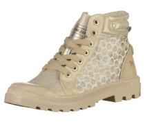Sneaker beige / silber