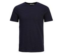 Gestreiftes T-Shirt blau / schwarz