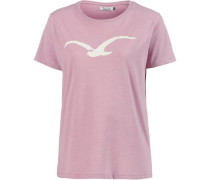 'Möwe' T-Shirt creme / rosé