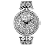 New York Quarzuhr »Crystal Rock 43L160« silber