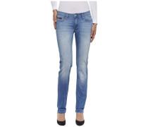 "Jeans ""Mid rise straight Sandy Bodst"" blue denim"