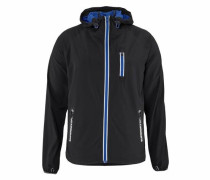 Trainingsjacke 'sports Active Flash RUN Shell' blau / schwarz