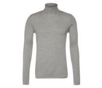 Pullover 'turtle neck' grau