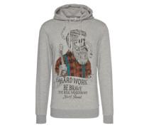 Sweatshirt 'Terri' graumeliert