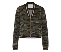 Camouflage Jacke 'Poptrash' grau / khaki