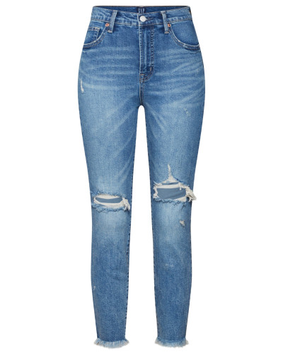 Jeans 'TR Skinny HR Ankle Vintage' blue denim