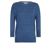 Female Knit Tittenalarm blau