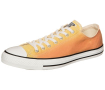Chuck Taylor All Star OX Sneaker orange / weiß