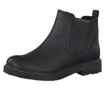 Chelsea Boots für Mädchen schwarz
