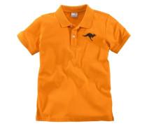 Poloshirt für Jungen orange