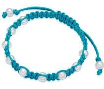 Armband türkis / perlweiß