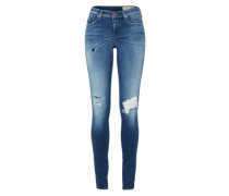 Jeans Skinny Fit 'Skinzee 813C' blue denim