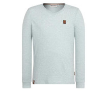 Male Sweatshirt 'Do the Ömer Dance Iii' rauchblau
