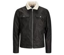 Klassische Jacke creme / schwarz