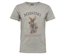 Shirt 'Missing' grau