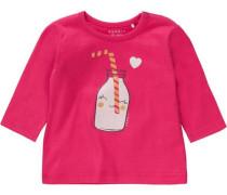 Langarmshirt für Mädchen Organic Cotton pink
