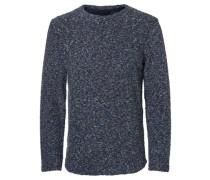 Sweatshirt Strukturierter blau