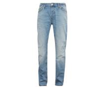 Slim-Jeans im Used-Look 'loom Breaks'