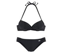 Push-up-Bikini schwarz