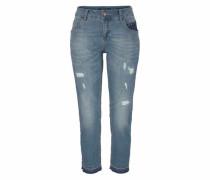 Boyfriend-Jeans 'cyrus' blau