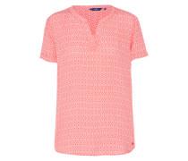 Bluse 'summerly print' rosé