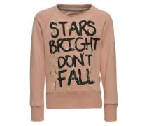 Sweatshirt 'Narleen' rosa / schwarz