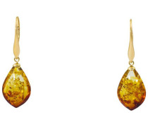 Paar Ohrhänger »Tropfen« gold