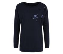 Sweatshirt 'ONLStella Amour' blau