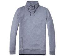 "Hilfiger Denim Sweatshirt ""thdm Washed FN Hknit L/S 20"" hellgrau"