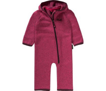 Baby Fleeceanzug Moonchild pink