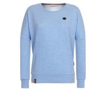 Female Sweatshirt '2 Stunden Sikis Sport Iii' hellblau