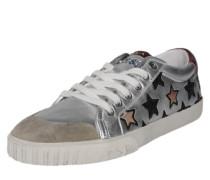 Sneaker 'Majestic' dunkelblau / gold / rot / silber / weiß