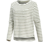 Keep Up Blues Sweatshirt oliv / weiß