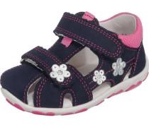 Kinder Sandalen WMS-Weite M4 nachtblau / pink