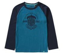 Langarmshirt 'oceanside' für Jungen blau