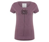 T-Shirt 'Mari Heart Blossom' lila
