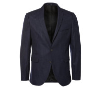 Slim-Fit-Blazer ultramarinblau