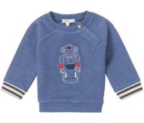 Pullover Genua blau / grau