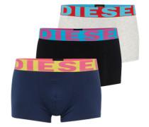 Pants im 3er-Pack 'Shawn' blau / schwarz / weiß